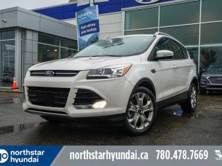 Used 2015 Ford Escape TITANIUM/LEATHER/PANOROOF/NAV/BACKUPCAM for sale in Edmonton, AB