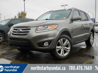 Used 2012 Hyundai Santa Fe LTD NAV/LEATHER/SUNROOF/HEATEDSEATS/BACKUPCAM for sale in Edmonton, AB