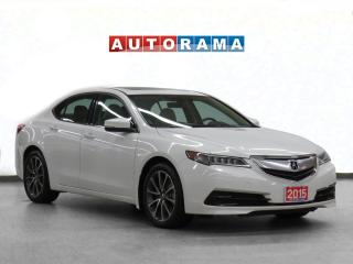 Used 2015 Acura TLX SH AWD Tech Pkg Navi Leather Sunroof Backup Cam for sale in Toronto, ON