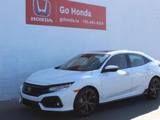 Used 2019 Honda Civic Hatchback SPORT TOURING HATCH for sale in Edmonton, AB