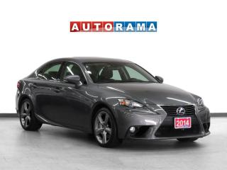 Used 2014 Lexus IS 350 4WD Navigation Leather Sunroof Backup Cam for sale in Toronto, ON