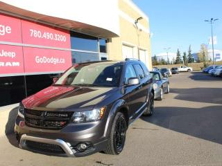 Used 2017 Dodge Journey Crossroad AWD / Sunroof / Garmin Navigation / Back Up Camera for sale in Edmonton, AB