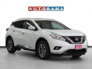 Used 2016 Nissan Murano 4WD SL Navi Leather Pano-Sunroof Backup Cam for sale in Toronto, ON