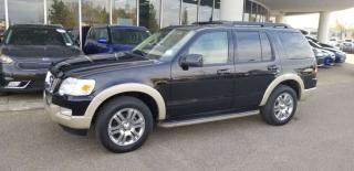 Used 2010 Ford Explorer EDDIE BAUER; NAVI, 7 PASS LEATHER, BLUETOOTH, HEATED SEATS AND MORE for sale in Edmonton, AB