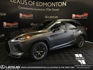 Used 2020 Lexus RX 350 F Sport Series 2 [G] for sale in Edmonton, AB
