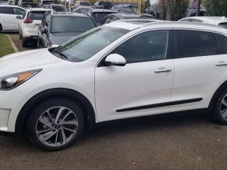 Used 2019 Kia NIRO SX TOURING; BACKUP CAM, SUNROOF, KEYLESS ENTRY, WIRELESS PHONE CHARGER, BLUETOOTH AND MORE! for sale in Edmonton, AB