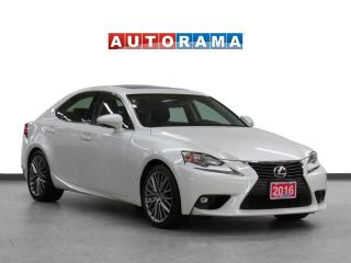 Used 2016 Lexus IS 300 4WD Leather Sunroof Backup Cam for sale in Toronto, ON