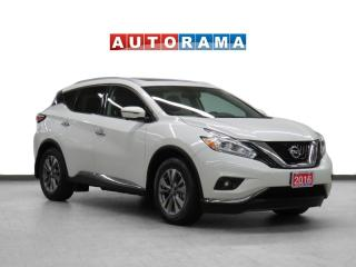 Used 2016 Nissan Murano 4WD Navigation Leather Pano-Sunroof Backup Cam for sale in Toronto, ON