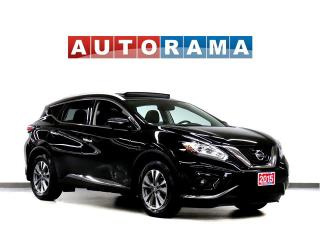 Used 2015 Nissan Murano 4WD SL Navigation Leather Pano-Sunroof Backup Cam for sale in Toronto, ON