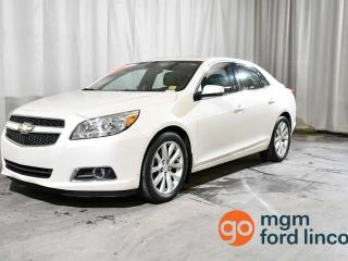 Used 2013 Chevrolet Malibu LT FWD   LOW KILOMETRES   LEATHER   HEATED FRONT SEATS   MOONROOF   BLUETOOTH HANDS-FREE for sale in Red Deer, AB