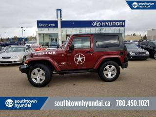 Used 2008 Jeep Wrangler SAHARA/4WD/HARD TOP/2 DOOR for sale in Edmonton, AB
