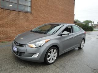 Used 2012 Hyundai Elantra Limited w/Navi NO ACCIDENTS for sale in Oakville, ON