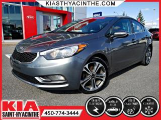 Used 2014 Kia Forte EX * CAMÉRA DE RECUL / SIÈGES CHAUFFANTS for sale in St-Hyacinthe, QC