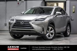 Used 2016 Lexus NX 200t EXECUTIVE AWD; CUIR TOIT GPS ANGLES MORTS LSS+ NAVIGATION - AFFICHAGE TETE HAUTE - MONITEUR ANGLES MORT - SONAR DE STATIONNEMENT - PRE-COLLISION for sale in Lachine, QC