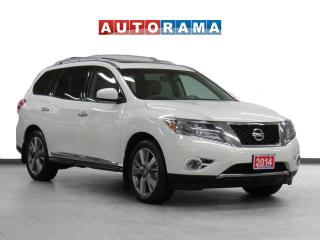 Used 2014 Nissan Pathfinder 4WD Platinum Navi Leather Pano-Sunroof Bcam 7Pass for sale in Toronto, ON