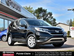 Used 2015 Honda CR-V SE AWD MAGS, SIÈGES CHAUFFANT, CLÉ INTÉLLIGENT for sale in Pointe-Claire, QC