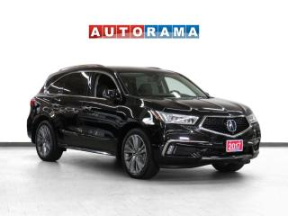 Used 2017 Acura MDX 4WD Elite Pkg Navi Leather Sunroof Backup Cam 7Pas for sale in Toronto, ON