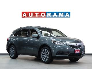 Used 2014 Acura MDX 4WD Tech Pkg Navi Leather Sunroof Backup Cam 7Pass for sale in Toronto, ON