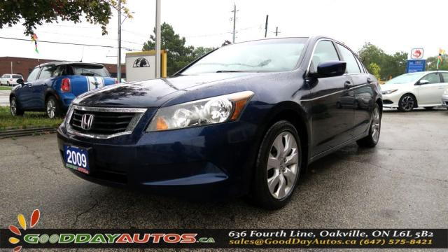 2009 Honda Accord EX-L |LOW KM|NO ACCIDENT|LEATHER|SUNROOF|CERTIFIED