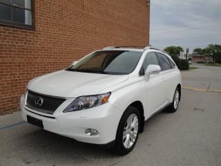 Used 2011 Lexus RX 450h LEATHER/NAVI/CAM/SUNROOF for sale in Oakville, ON