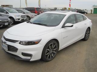 Used 2018 Chevrolet Malibu LT True North Edition for sale in Thunder Bay, ON