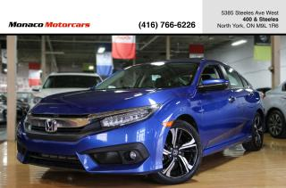 Used 2016 Honda Civic CVT TOURING - LEATHER|NAVIGATION|BACKUP|ACC|LKA for sale in North York, ON