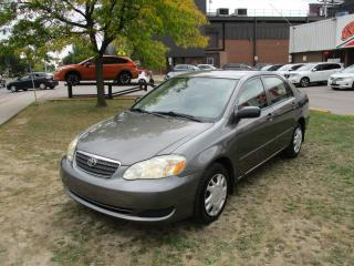 Used 2005 Toyota Corolla CE~POWER OPTIONS~AUTO~LOW KM'S~CERTIFIED!!! for sale in Toronto, ON