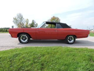 Used 1969 Plymouth Road Runner Convertible. 383 4 Speed. Financing/shipping. for sale in Gorrie, ON