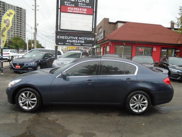 2009 Infiniti G37X  Luxury/ AWD/ ONE OWNER / LEATHER / ROOF / ALLOYS /