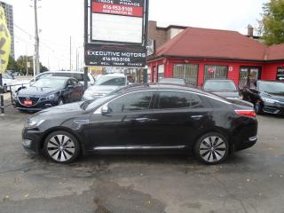 Used 2012 Kia Optima SX/ LOADED / NAV/ REV CAM / LEATHER / PANO ROOF for sale in Scarborough, ON
