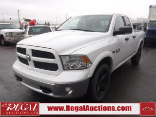 Used 2015 RAM 1500 Outdoorsman Quad CAB SWB 4WD 5.7L for sale in Calgary, AB