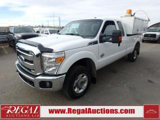 Used 2011 Ford F-350 SD XLT EXT CAB SERVICE BOX SRW 4WD for sale in Calgary, AB