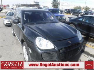 Used 2004 Porsche CAYENNE  4D UTILITY TURBO for sale in Calgary, AB