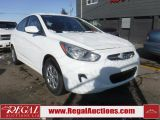 Photo of White 2013 Hyundai Accent