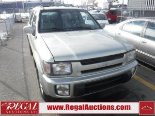Used 1998 Infiniti QX4 4D Utility 4WD for sale in Calgary, AB