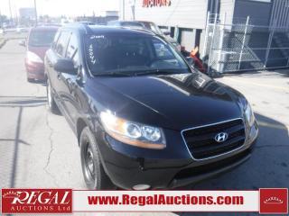 Used 2009 Hyundai SANTA FE GL 4D UTILITY 3.3L 4WD for sale in Calgary, AB