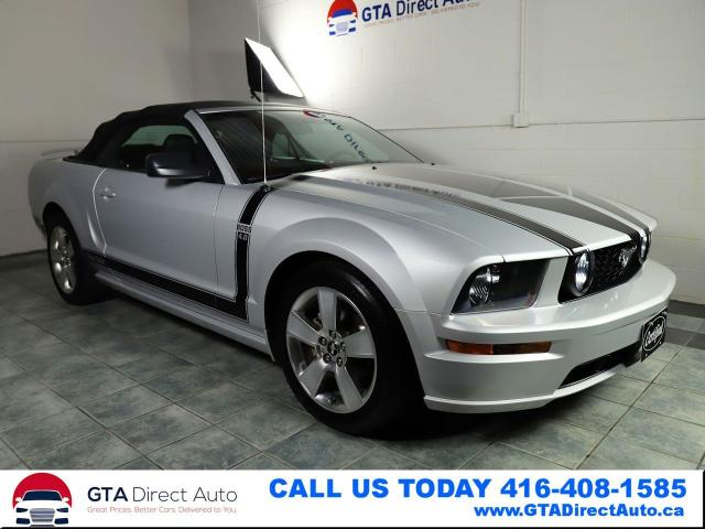 2006 Ford Mustang Premium 4.0L V6 Leather 5-Speed Low KM Certified