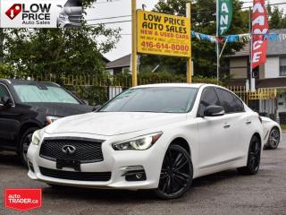 Used 2015 Infiniti Q50 AWD*LimitedPack*Navi*Camera*BoseAudio*ExtraClean* for sale in Toronto, ON