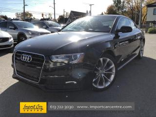 Used 2015 Audi A5 2.0T Komfort RARE 5SPD  ALLOYS  ROOF  BACKUP CAMER for sale in Ottawa, ON