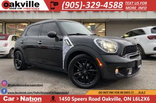 Used 2013 MINI Cooper Countryman COOPER S | PANO ROOF | HTD SEATS | LEATHER for sale in Oakville, ON