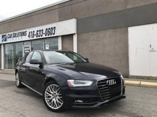 Used 2015 Audi A4 SOLD for sale in Toronto, ON