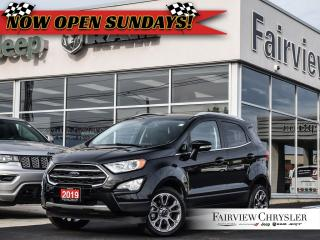 Used 2019 Ford EcoSport Titanium l 4WD l SUNROOF l HEATED LEATHER l for sale in Burlington, ON