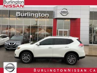 Used 2015 Nissan Rogue SL, ACCIDENT FREE, 1 OWNER ! for sale in Burlington, ON