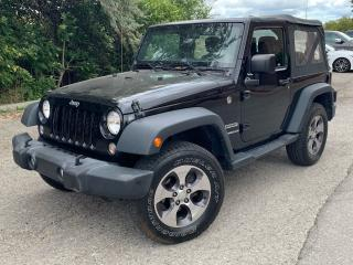 Used 2016 Jeep Wrangler SPORT for sale in Brampton, ON