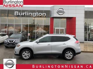 Used 2015 Nissan Rogue SV, FWD, ACCIDENT FREE, 1 OWNER , LOW KM'S ! for sale in Burlington, ON