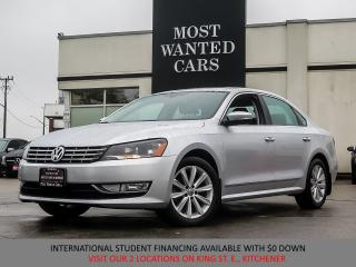 Used 2013 Volkswagen Passat 2.0L TDI HIGHLINE | NAVIGATION | CAMERA | HEATED L for sale in Kitchener, ON