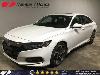 Used 2019 Honda Accord Sport 1.5T| LOW KM| Auto-Start| Sunroof| Backup Ca for sale in Woodbridge, ON
