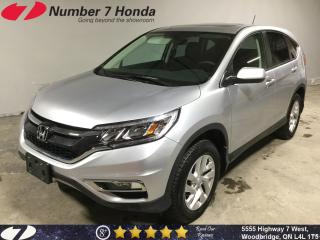 Used 2016 Honda CR-V EX-L| Remote Starter| Leather| All-Wheel Drive| for sale in Woodbridge, ON