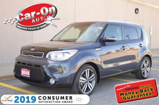 Used 2016 Kia Soul SX LUXURY LEATHER NAV PANO ROOF REAR CAM 13, 800 K for sale in Ottawa, ON