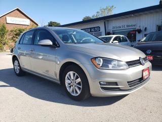 Used 2015 Volkswagen Golf TDI TRENDLINE for sale in Waterdown, ON